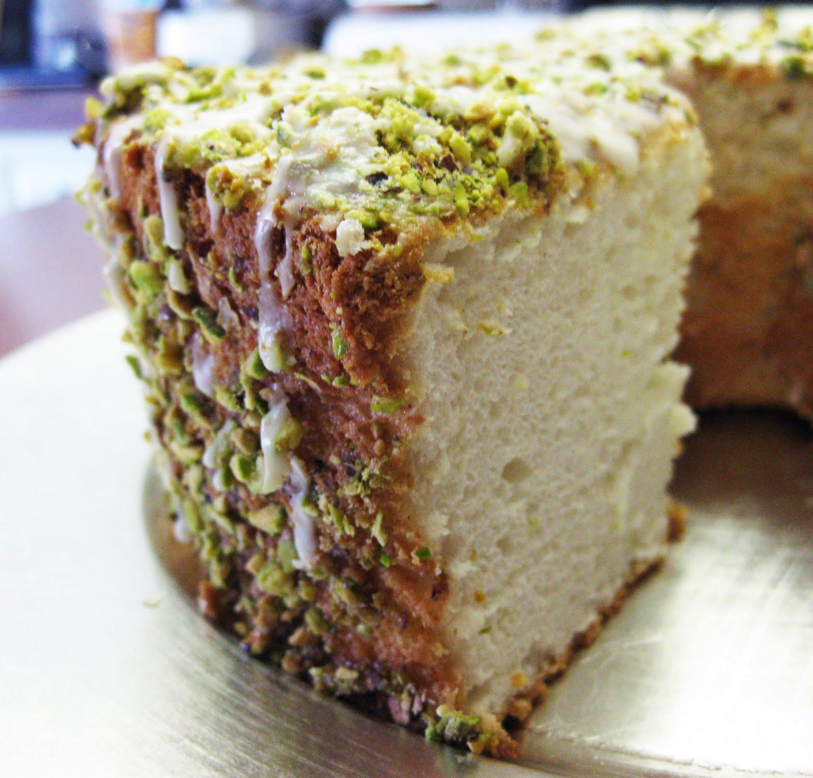 Lime Angel Food Cake Recipe — Dishmaps