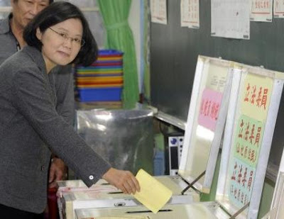 Vote in Taiwan