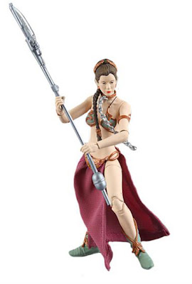 "Hasbro Star Wars The Black Series Wave 2 6"" Slave Leia Figure"