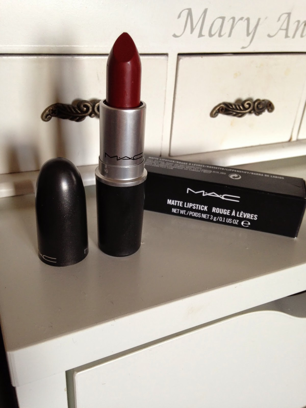 MAC A Novel Romance Collection Lipstick in Hearts Aflame