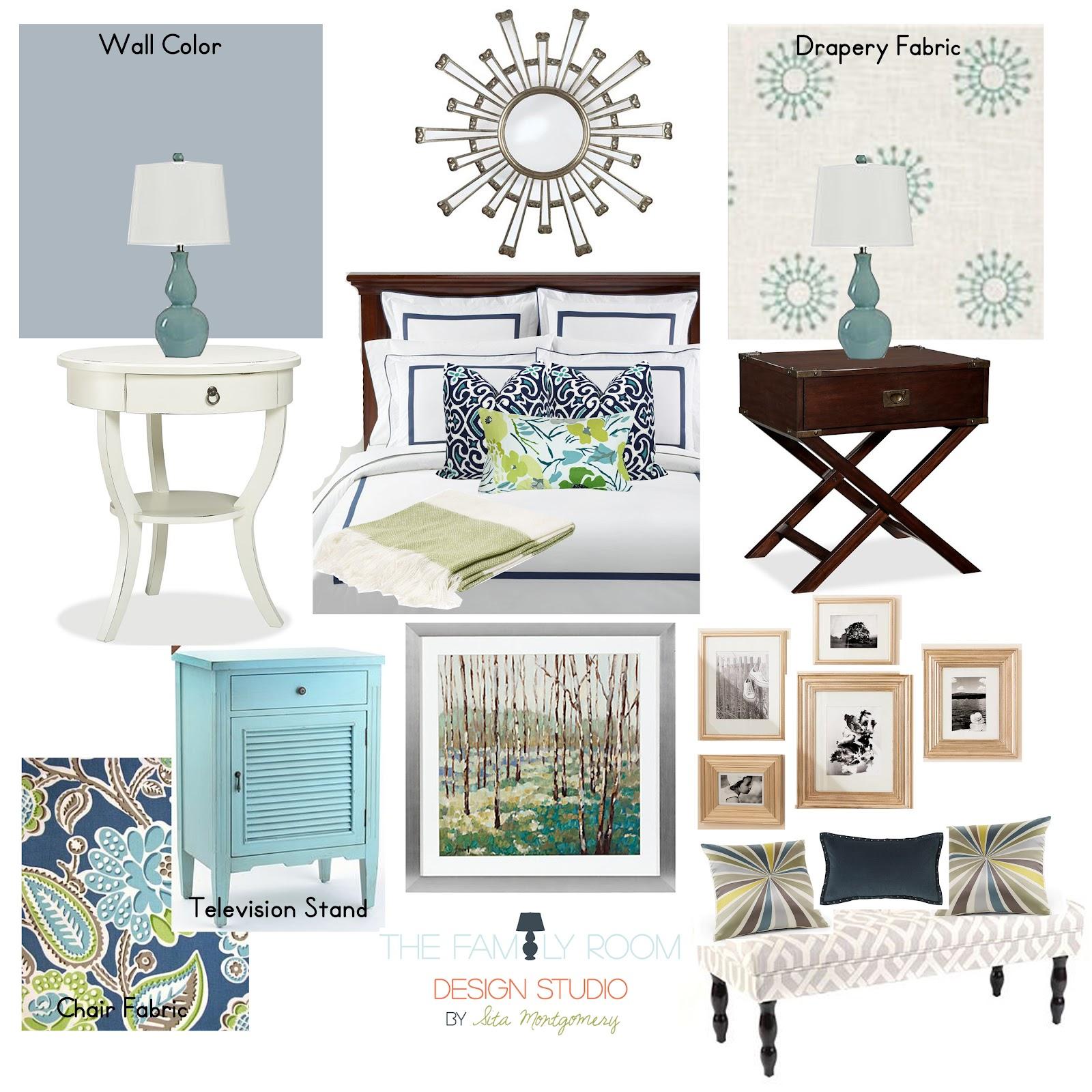 Sita Montgomery Interiors E Design Board Master Bedroom