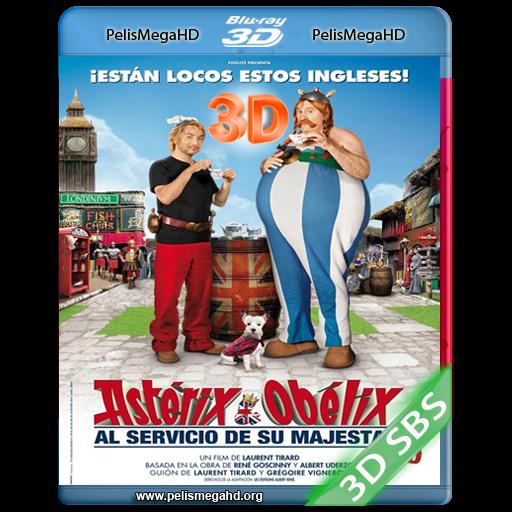 ASTERIX Y OBELIX: AL SERVICIO DE SU MAJESTAD (2012) 3D SBS 1080P HD MKV ESPAÑOL LATINO