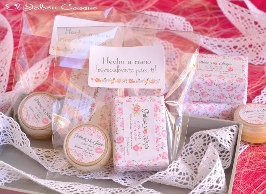 detalles de boda hechos a mano el jabon casero