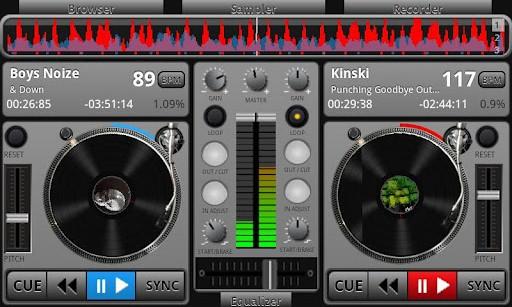 Скачать edjing 5 Бесплатная DJ микшер на Андроид