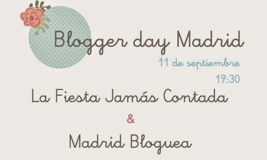 Blogger day madrileño
