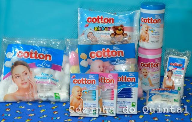 Hgie Topp Cotton Line Algodão, Hastes Flexíveis e Lenços Umedecidos