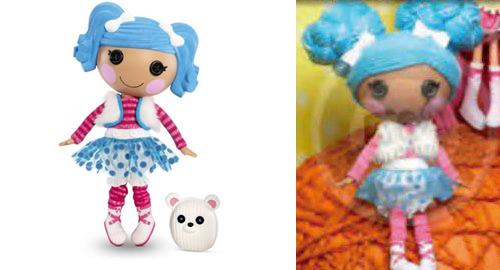 lalaloopsy mittens yarn hair