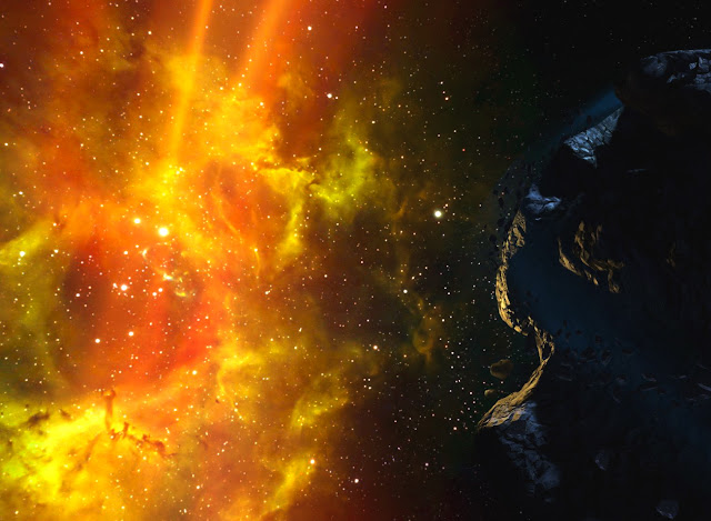halo,art,space, nebula