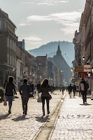 Brasov Republici Avenue Romania Photography