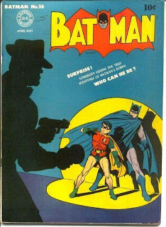 Batman #16 comic cover, 1st appearance of Alfred Pennyworth
