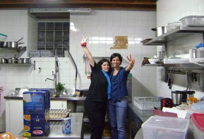 L'équipe cuisine de la convention