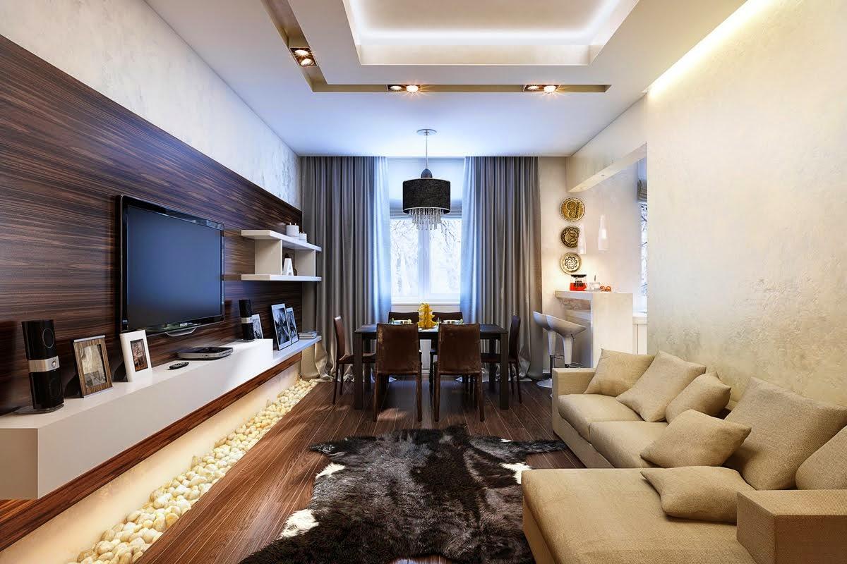 Дизайн и виз квартиры в современном стиле