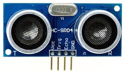 Gambar Sensor ultrasonik hc-sr04