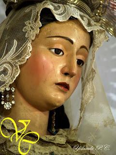 asombroso Virgen sentado en la cara