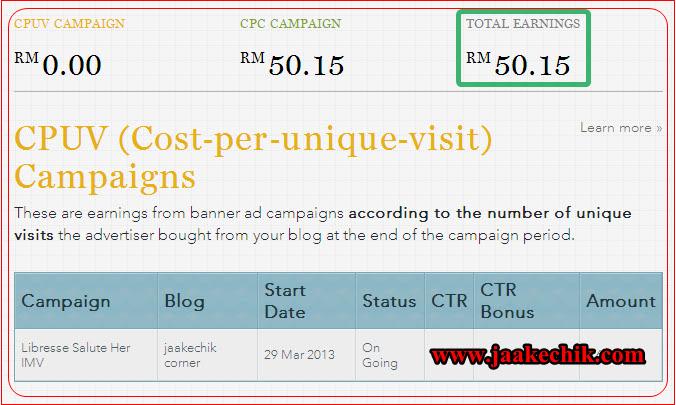 nuffnang, Ciri-ciri blog untuk dapat iklan CPUV Nuffnang, earning nuffnang, buat duit dengan blog