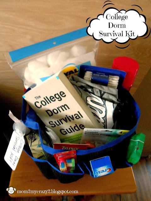 College Survival Guide Funny College Dorm Survival Guide