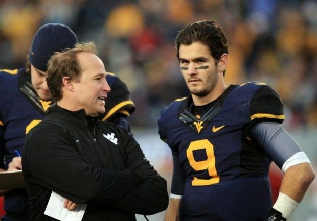 West Virginia QB Clint Trickett claims Nick Saban's daughter was the first girl he ever kissed.