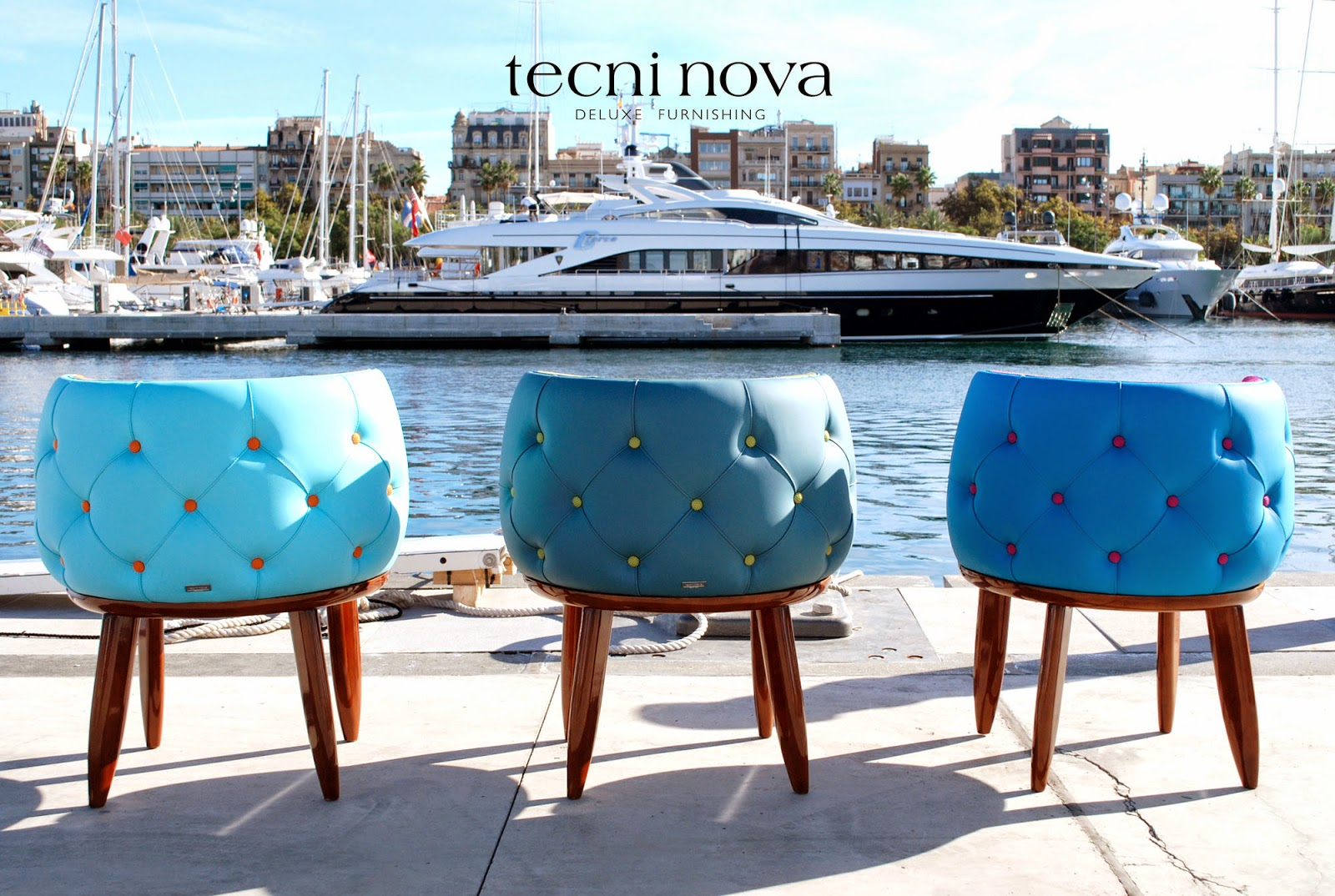 tecninova-outdoor-deluxe-luxury-furnishing-chester-capitone-sail-saling-mobiliario-exterior-nautico-telas-exteriores-fabrics-water-resistant-nautical-luxury-yatch-salon-nautico-barcelona-2014-thecooluxury-luxury-lifestyle-millionaire-houses-pool-upholstery-armchair-chair-table-pedestal-swivel-bright-colours-seafloor-sea-ocean-colours-turquoise
