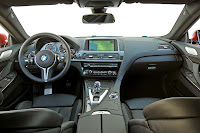 The new BMW M6 Coupe interior front