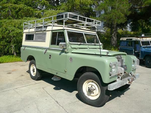 1967 Land Rover Series Iia 4x4 Cars
