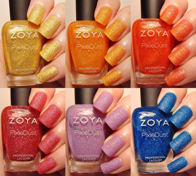 Statement Making Nail Polish Zoya PixieDust Summer 2013 Collection