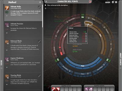 The Secret World - Ability Wheel