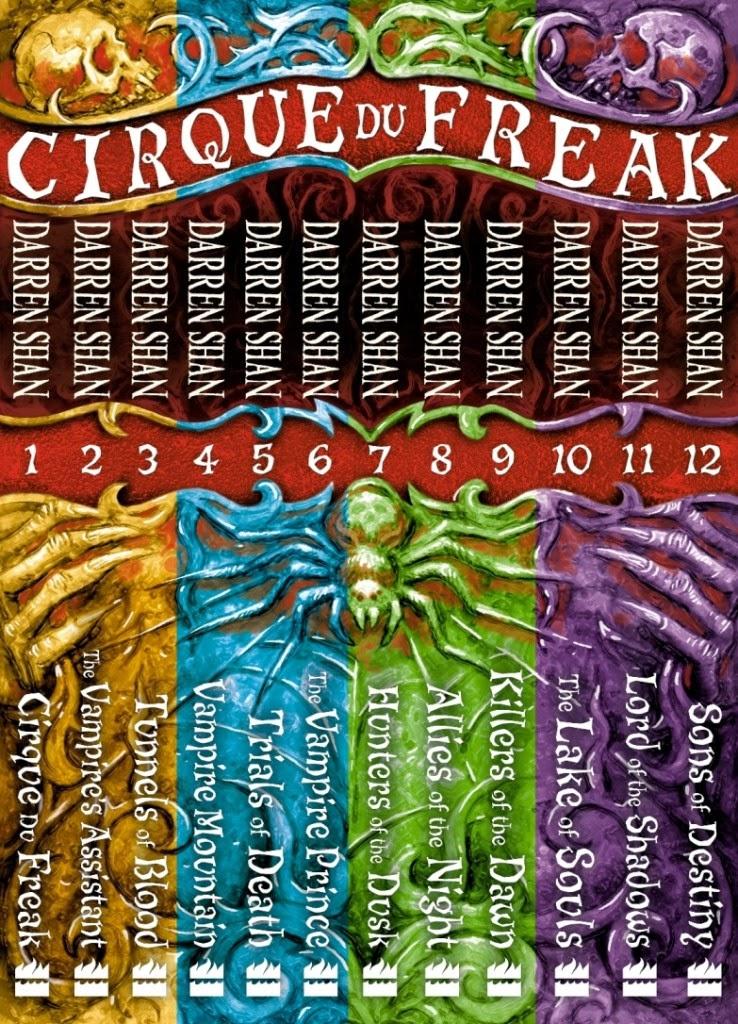 book review cirque du freak