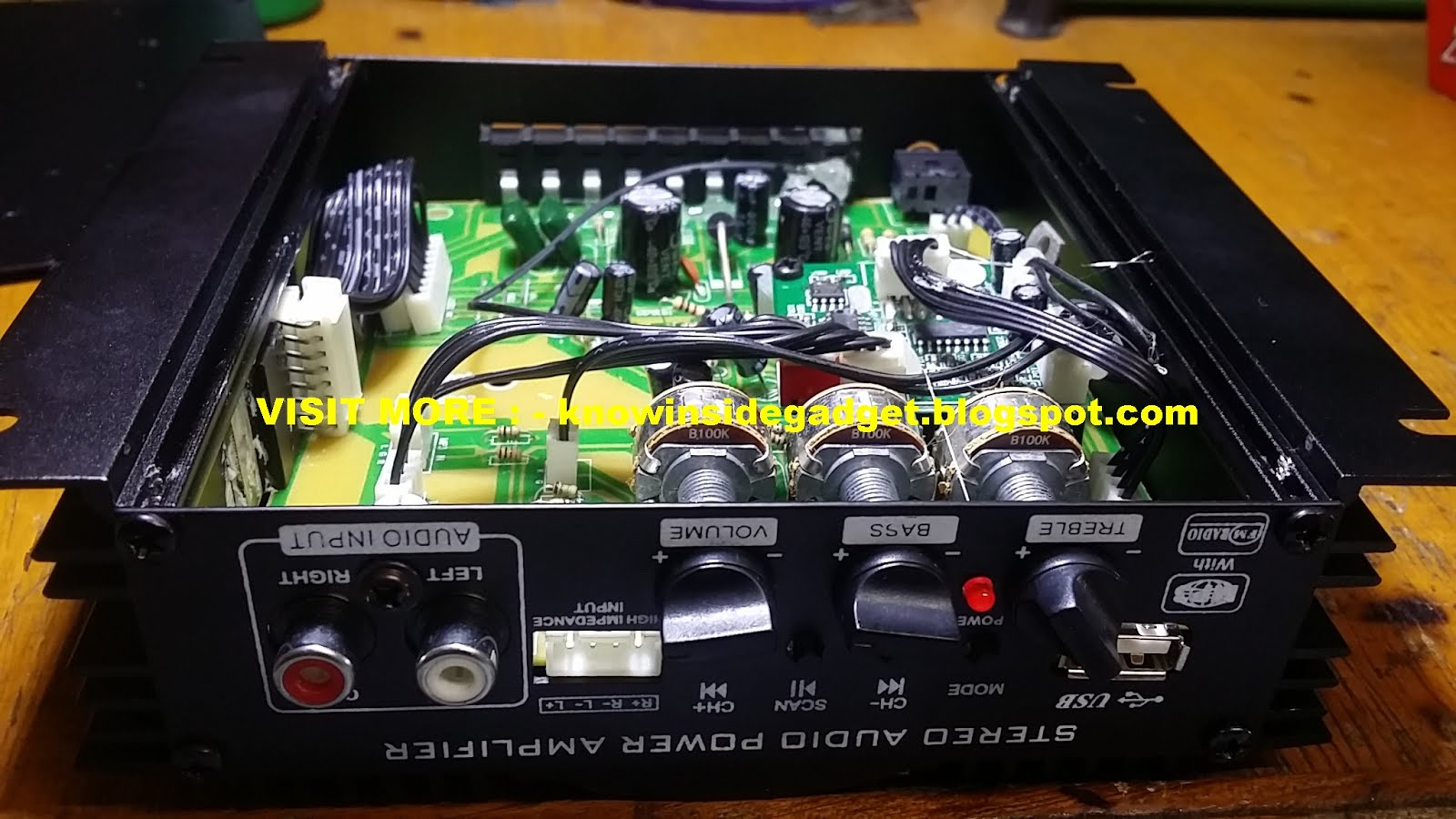 What Inside These Stuff August 2018 Circuit Power Audio Amplifier Stereo With Tda7293 200 Watts Rms Dual Channel Car Usb Sd Card Fm And Remote Control Specifications Two For Input