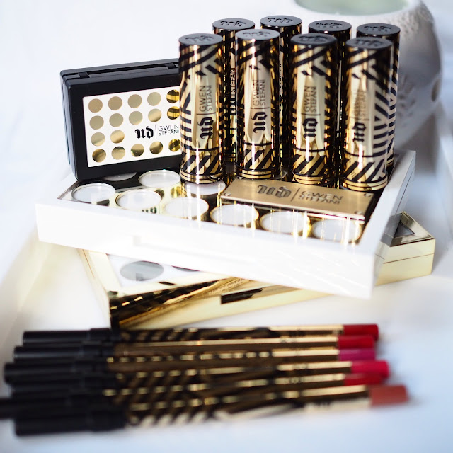 Urban Decay #UDxGwen Gwen Stefani Collection - Black and Gold Tubes