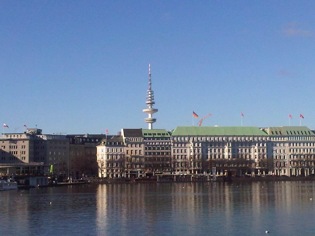 Binnenalster - Fernsehturm - Neuer Jungfernstieg