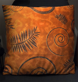 fossil shapes designer throw cushion