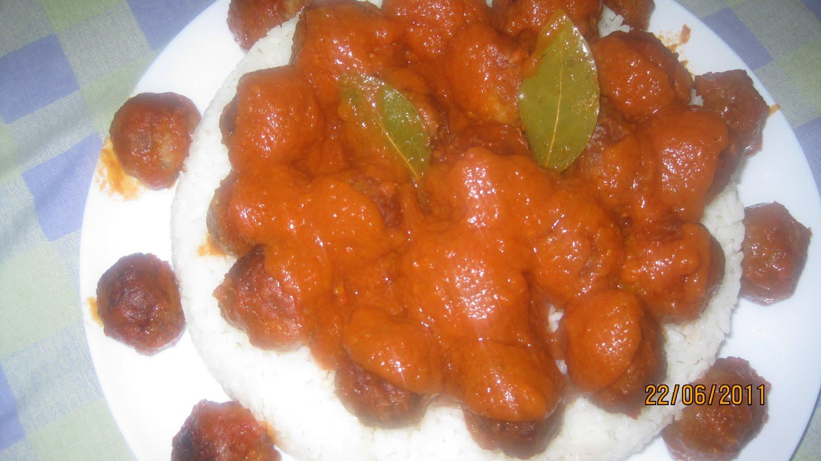Recetas de cocina casera arroz de guarnicion para albondigas - Guarnicion para albondigas ...