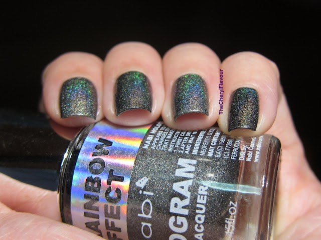 Nabi Holographic Black vs ColorClub Revvvolution
