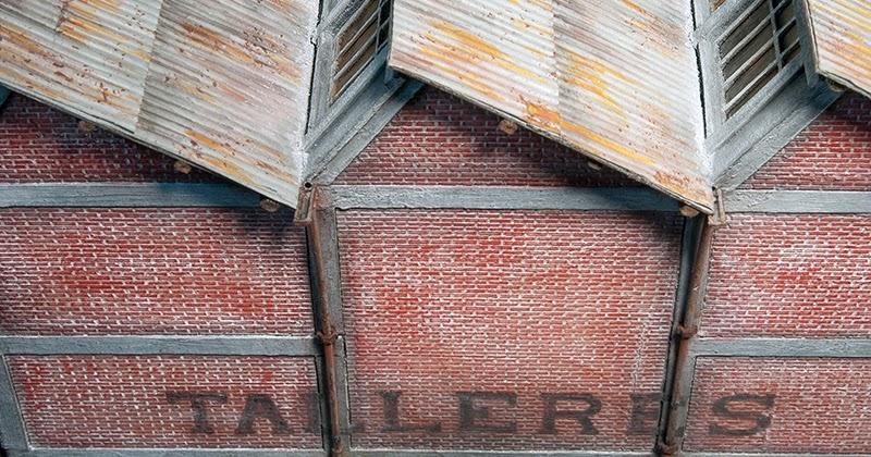 Trainscape tejados de chapa materiales xido y suciedad - Materiales para tejados ...