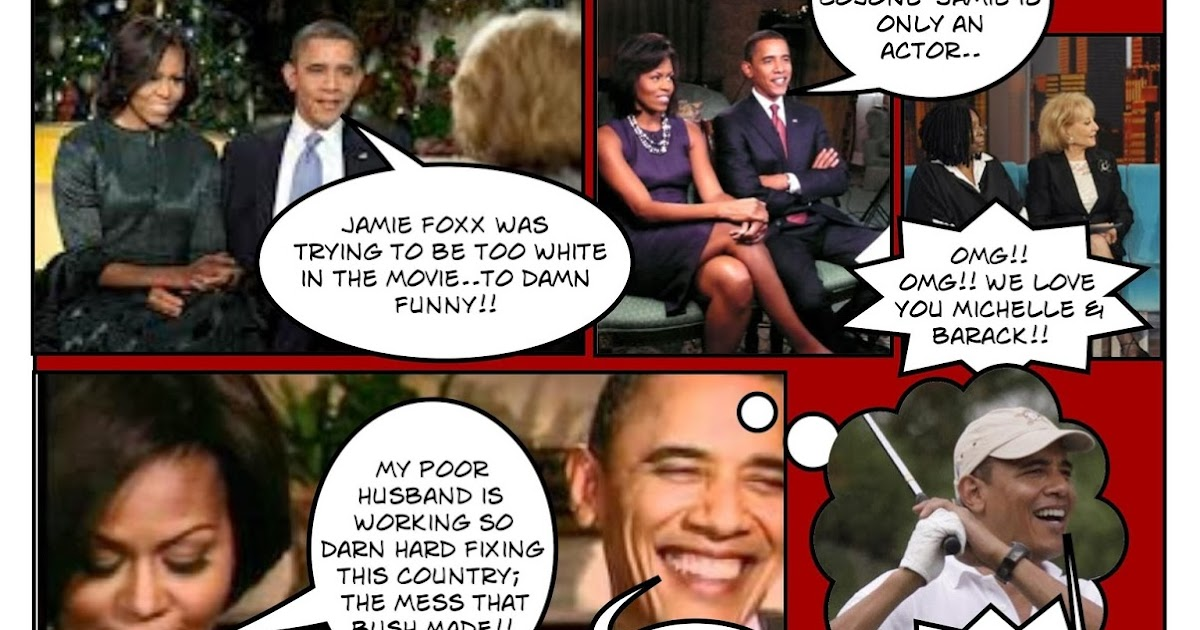 """The Marc Chamot Report: Michelle and Barack Obama interviews on Jamie Foxx's movie; """"White House ... K Michelle 2013"""