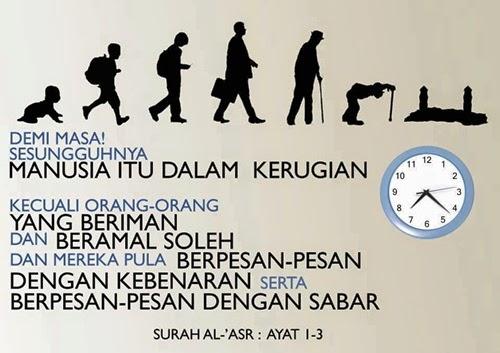 Tazkirah: Manfaatkan Masa Sebaiknya, surah al-asr