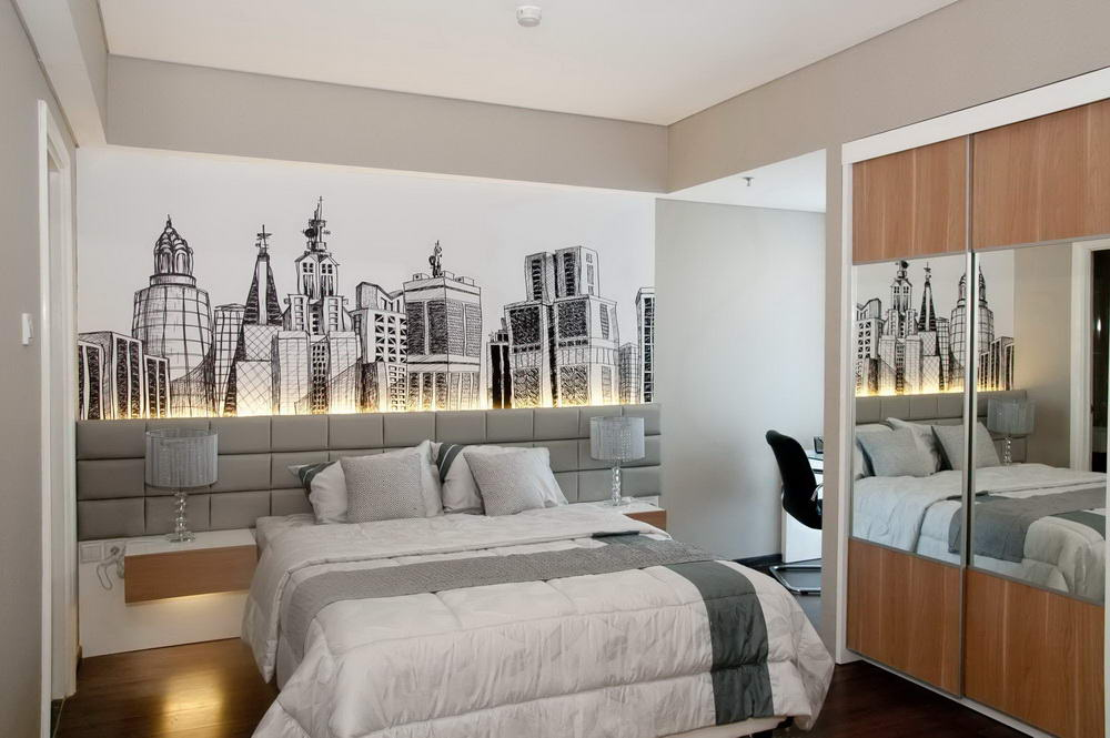 50 desain kamar tidur kecil yang unik sederhana fourlook