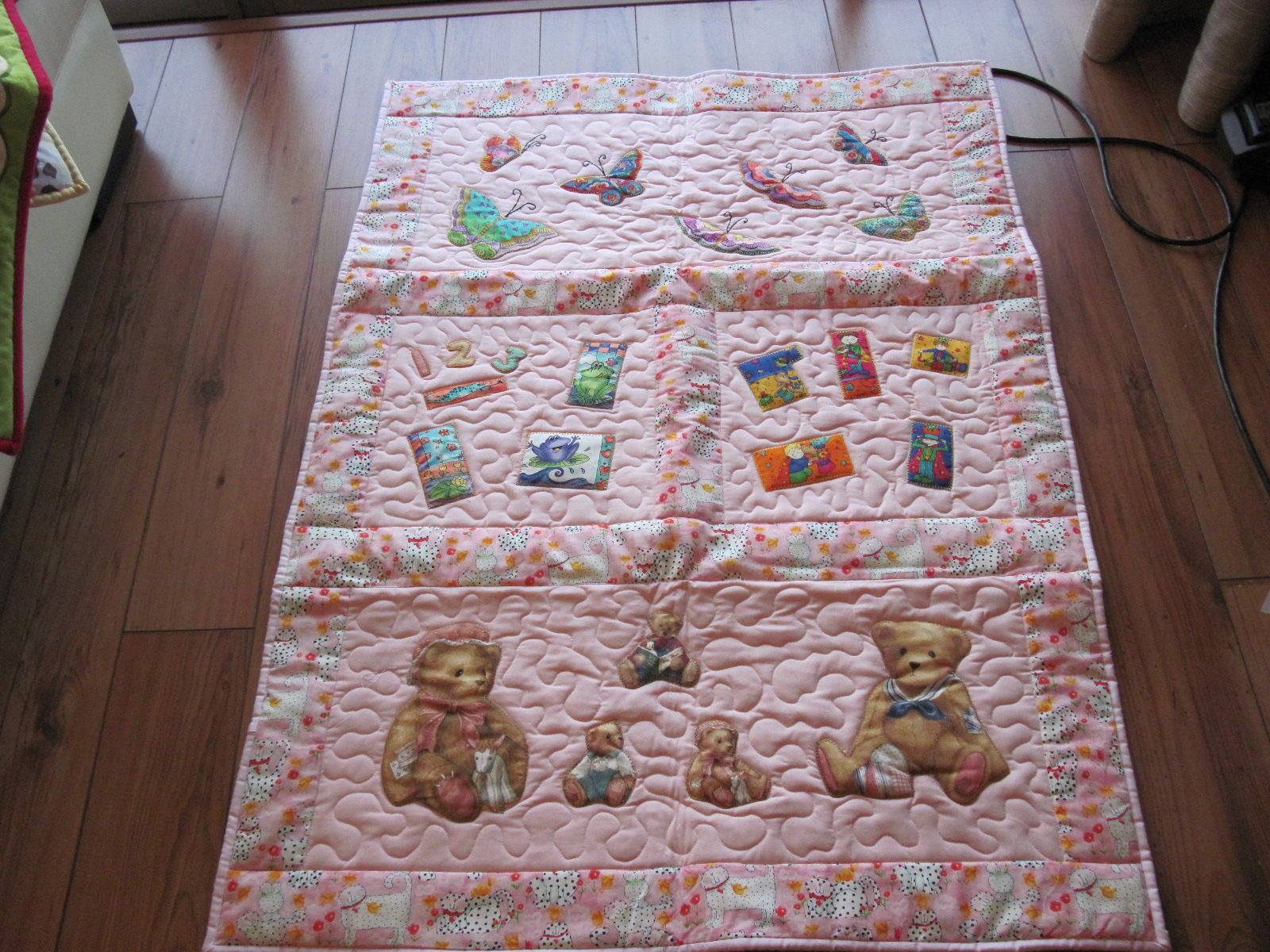 Patchymags Baby Cot Quilts