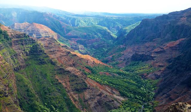 Waimea Canyon, Kauai, Hawaï, USA