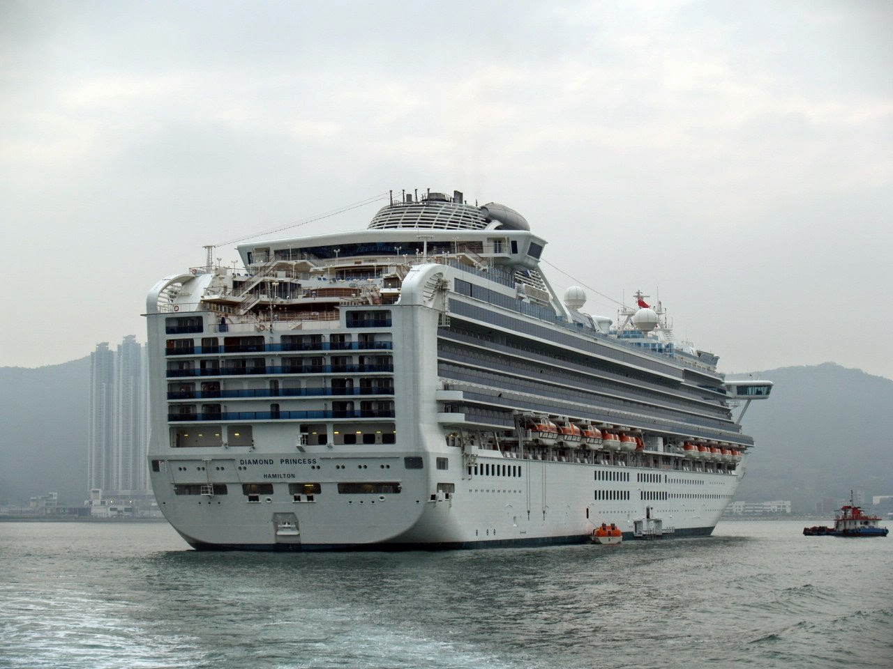 DIAMOND PRINCESS Current Position  Ship Cruises