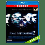 Destino final 2 (2003) 4K UHD Audio Dual Latino-Ingles
