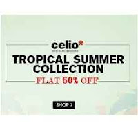 Shoppersstop : Buy Celio T-shirts at Upto 60% Off with 30% off : Buytoearn