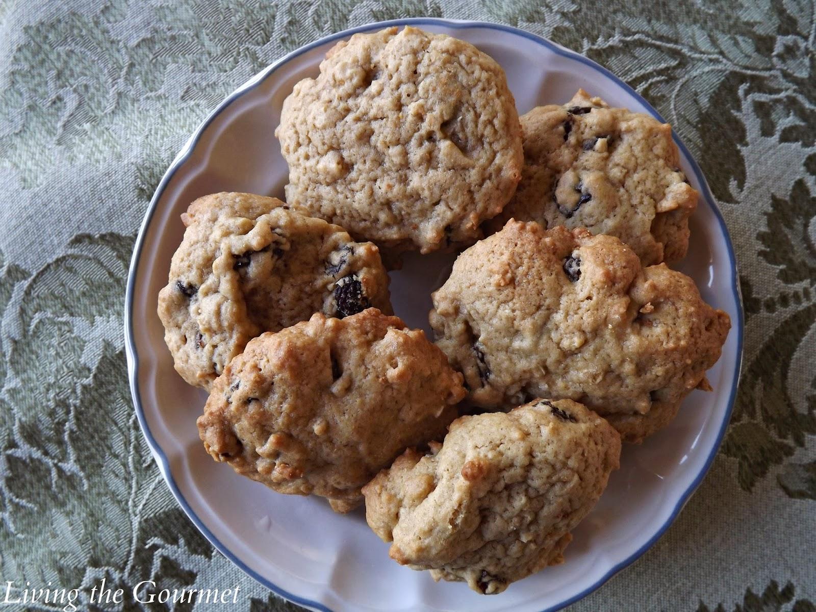 Maple Oatmeal Raisin Cookies - Living The Gourmet