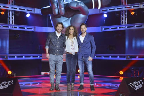 coaches La voz Kids 2