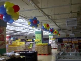 dekorasi balon CARREFOUR D