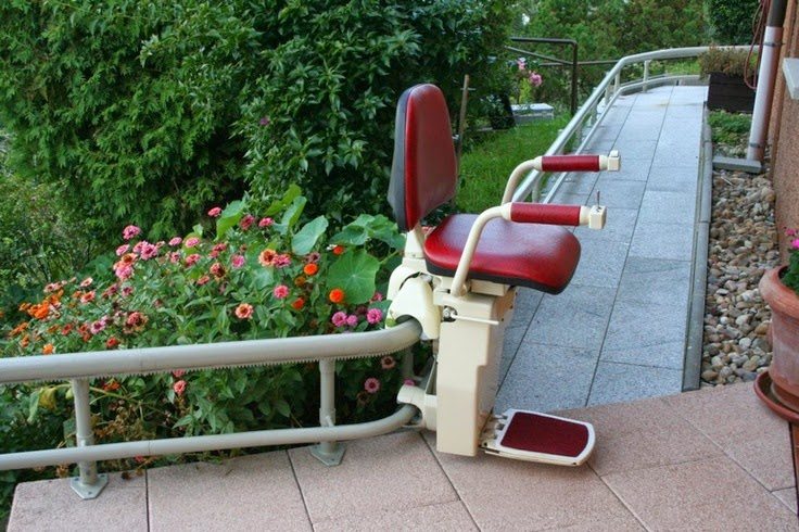 curved stair lifts for external staircases