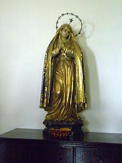 folha de ouro em santos barrocos