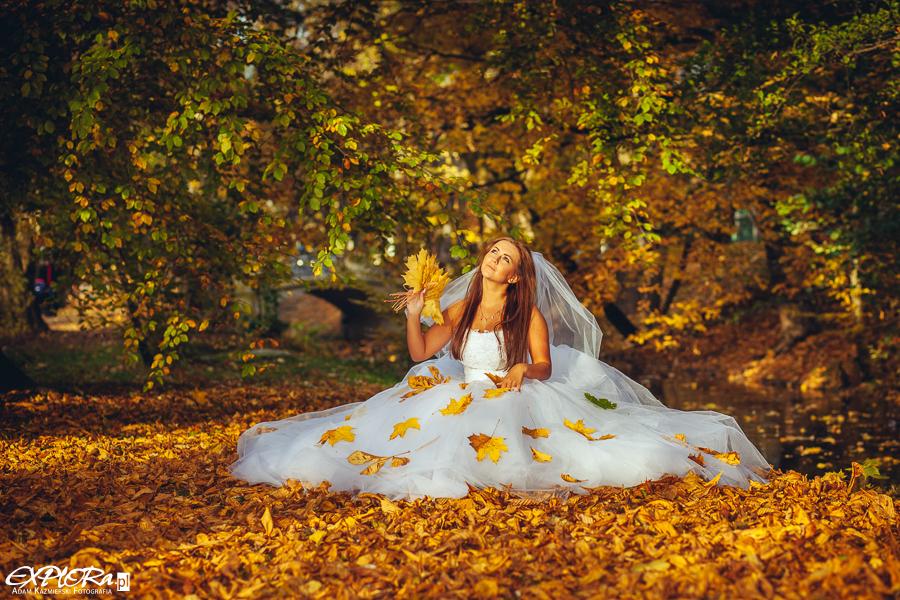Jesienny klimat ślubny