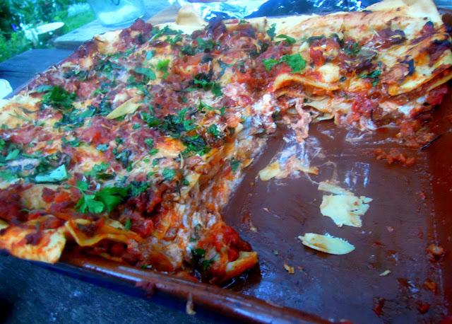 fresh lasagne