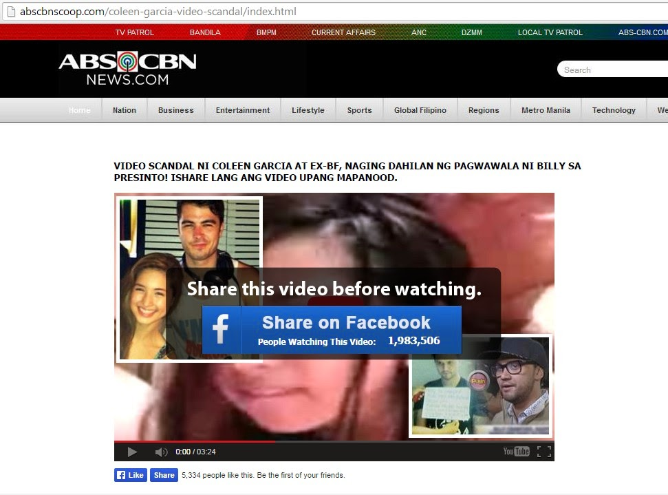 Coleen Garcia Video Scandal Hoax - Social Trends PH